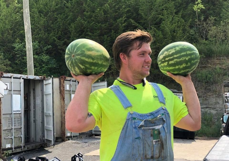 Parman Tractor Supports Local Farmers with Customer Watermelon Day