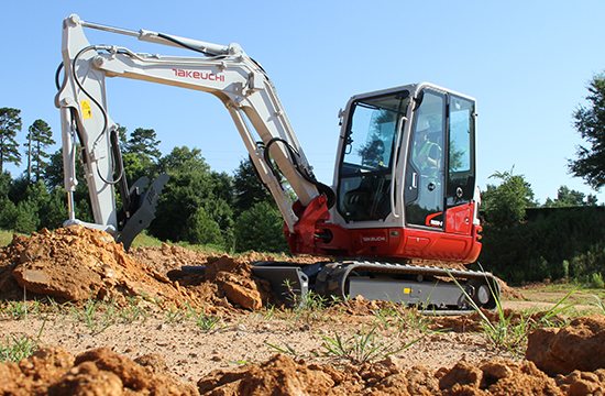 TAKEUCHI LAUNCHES TB250-2 COMPACT HYDRAULIC EXCAVATOR TO MARKET